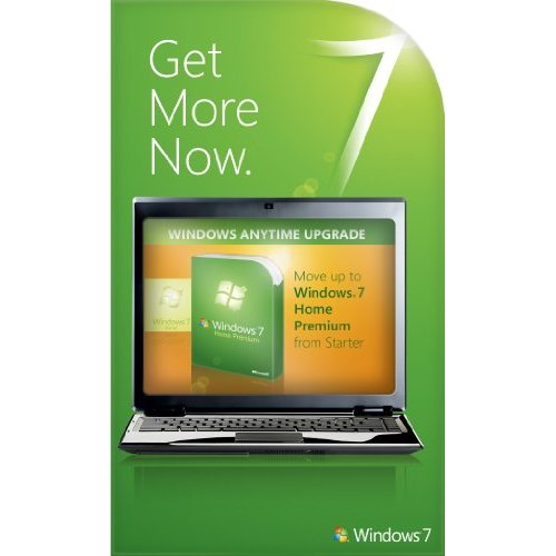 Windows 7 Home Basic to Home Premium Anytime Upgrade Key