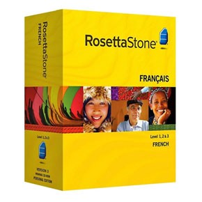 Rosetta Stone French Level 1, 2, 3, 4, 5 Set product key