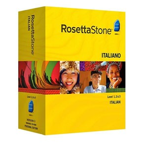 Rosetta Stone Italian Level 1, 2, 3 Set product key