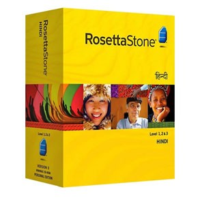 Rosetta Stone Hindi Level 1, 2, 3 Set product key