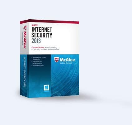 McAfee Internet Security 2013 (3PC-1Year) product key
