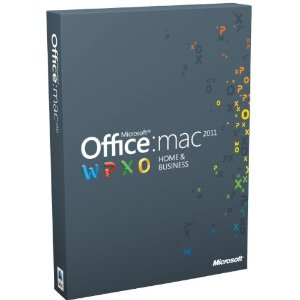 Office for Mac Home and Business 2011 (2-Licenses) product key
