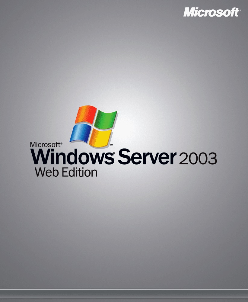 Windows Server 2003 Web Edition product key