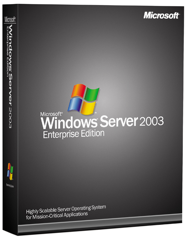 Windows 2003 Enterprise R2 SP2 product key