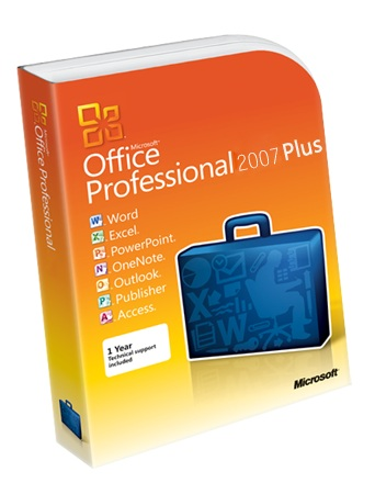 Office Professional Plus 2007 product key