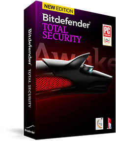 Bitdefender total securtiy (2years 3pcs) product key