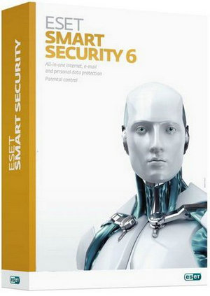 eset nod32 smart security (1year 2user) product key