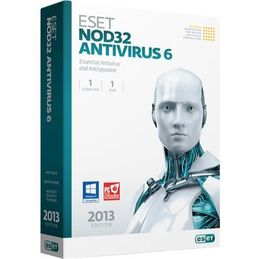 eset nod32 antivirus (1 year 1user) product key