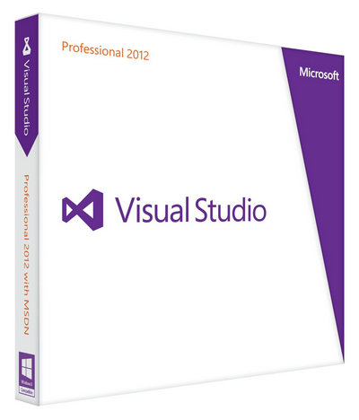 Visual Studio 2012 Professional product key