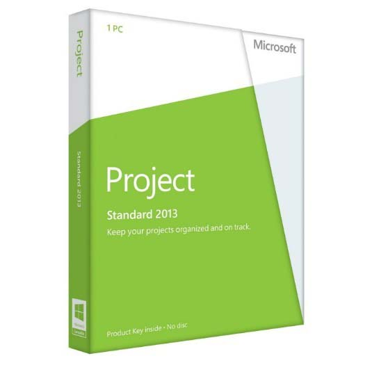 Microsoft Project Standard 2013  product key